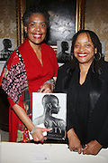 l to r: Pamela Greene and Dr. Deb Willis at the Weeksville Heritage Society Awards and book celebration for ' Posing Beauty ' sponsored by The Weeksville Heritage Society and held at The Jumeirah Essex House hotel on Novemeber 16, 2009