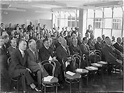 19/09/1952<br /> 09/19/1952<br /> 19 September 1952<br /> National Cash Register Co. Ltd. New premises opening at South Circular Road Kilmainham attended by Sean Lemass, Minister for Industry and Commerce.