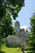 Romania, Bran a Medieval castle on a cliff in Transylvania