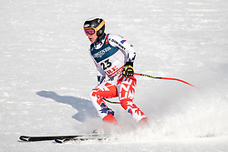 11.02.2019, Aare, SWE, FIS Weltmeisterschaften Ski Alpin, alpine Kombination, Herren, Abfahrt, im Bild Ondrej Berndt (CZE) // Ondrej Berndt of Czech Republic reacts after the Downhill competition of the men's alpine combination for the FIS Ski World Championships 2019. Aare, Sweden on 2019/02/11. EXPA Pictures © 2019, PhotoCredit: EXPA/ Dominik Angerer