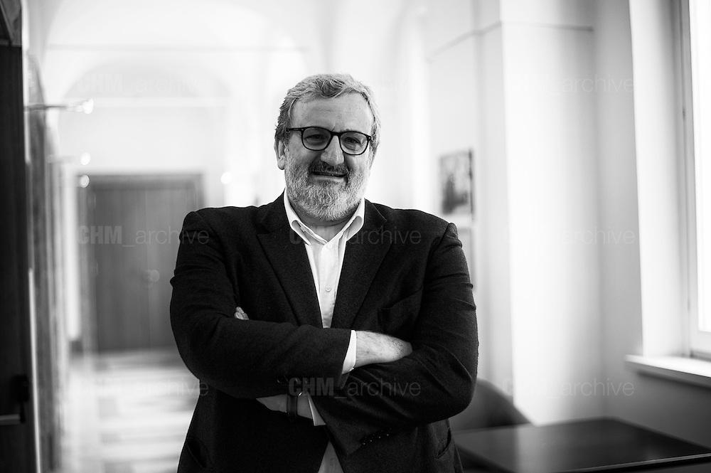 Michele Emiliano presso la sede della Stampa Estera, Roma 11 maggio 2016. Christian Mantuano / OneShot