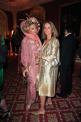 Left to right, KATHERINE BOORMAN and SABRINA GUINNESS at a dinner hosted by HRH Prince Robert of Luxembourg in celebration of the 75th anniversary of the acquisition of Chateau Haut-Brion by his great-grandfather Clarence Dillon held at Lancaster House, London on 10th June 2010.