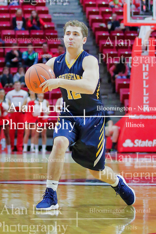 NORMAL, IL - November 03:  Jack Jelen during a college basketball game between the ISU Redbirds  and the Augustana Vikings on November 03 2018 at Redbird Arena in Normal, IL. (Photo by Alan Look)