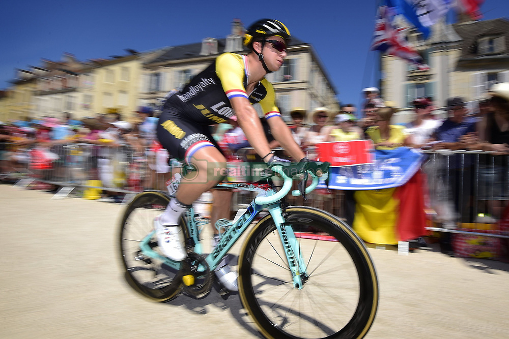 July 7, 2017 - Spielberg, France - GROENEWEGEN Dylan (NED) Rider of Team Lotto NL - Jumbo (Credit Image: © Panoramic via ZUMA Press)