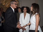 JAY JOPLING; ANAIS FERRIER,; MONICA FERNANDEZ TARANCO, Opening of Galerie Thaddaeus Ropac London, Ely House, 37 Dover Street.. Mayfair. London. 26 April 2017.