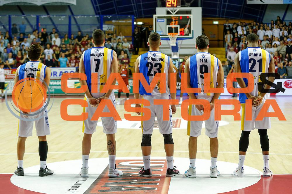 Betaland Capo D'Orlando<br /> Umana Reyer Venezia - Betaland Capo d'Orlando<br /> Lega Basket Serie A 2016/2017<br /> Venezia 09/10/2016<br /> Foto Ciamillo-Castoria