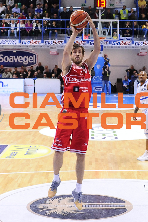 Enel Brindisi - Pesaro<br /> BASKET Serie A 2016 <br /> Brindisi 09/04/2017<br /> FOTO CIAMILLO / M.Longo