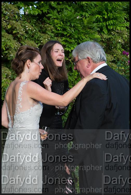 DR. PAULA BYRNE, PLUM SYKES; MATHEW TAYLOR, The Tercentenary Ball, Worcester College. Oxford. 27 June 2014