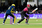 Peter Trego of Somerset batting during the Royal London 1 Day Cup Final match between Somerset County Cricket Club and Hampshire County Cricket Club at Lord's Cricket Ground, St John's Wood, United Kingdom on 25 May 2019.