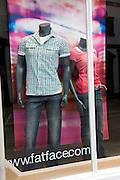 FatFace clothes shop window display
