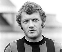 Jackie Fullerton, footballer, Crusaders FC, Belfast, N Ireland, August 1972, later sports broadcaster, first with UTV, later with BBC N Ireland. AKA John Alexander Fullerton, 197208000505<br />
