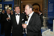 MELVYN BRAGG AND ANDREW  MARR, Royal Academy Annual Dinner. Piccadilly. London. 5 June 2007.  -DO NOT ARCHIVE-© Copyright Photograph by Dafydd Jones. 248 Clapham Rd. London SW9 0PZ. Tel 0207 820 0771. www.dafjones.com.
