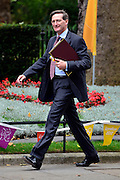 © Licensed to London News Pictures. 11/09/2012. Westminster, UK Attorney General - Dominic Grieve QC. MP's arrive for Cabinet at number 10 Downing Street today 11/09/12. Photo credit : Stephen Simpson/LNP
