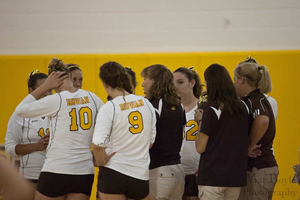 2010-09-02: Rowan University  defeats Immaculata University in a women's volleyball match 3-2.
