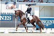 Joyce Lenaerts - Beukenvallei's Iconic B<br /> FEI World Championships Young Horses Dressage 2018<br /> © DigiShots