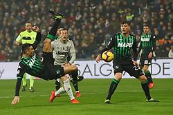 """Foto Filippo Rubin<br /> 10/02/2019 Reggio Emilia (Italia)<br /> Sport Calcio<br /> Sassuolo - Juventus - Campionato di calcio Serie A 2018/2019 - Stadio """"Mapei Stadium""""<br /> Nella foto: FEDERICO PELUSO (SASSUOLO)<br /> <br /> Photo Filippo Rubin<br /> February 10, 2019 Reggio Emilia (Italy)<br /> Sport Soccer<br /> Sassuolo vs Juventus - Italian Football Championship League A 2018/2019 - """"Mapei Stadium"""" Stadium <br /> In the pic: FEDERICO PELUSO (SASSUOLO)"""