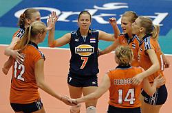 05-08-2005: VOLLEYBAL: WK KWALIFICATIE: NEDERLAND-OEKRAINE: ANKARA TURKIJE<br /> <br /> Nederland wint het eerste duel van de WK Kwalificatie reeks met 3-1 van Oekraine - <br /> <br /> ©2005-WWW.FOTOHOOGENDOORN.NL