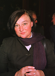 MRS ANTHEA CASE Director of the Heritage Lottery Fund, at a reception in London on 16th November 1998.MLZ 25