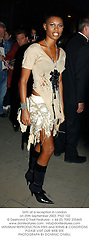 SKIN at a reception in London on 25th September 2003.PND 102