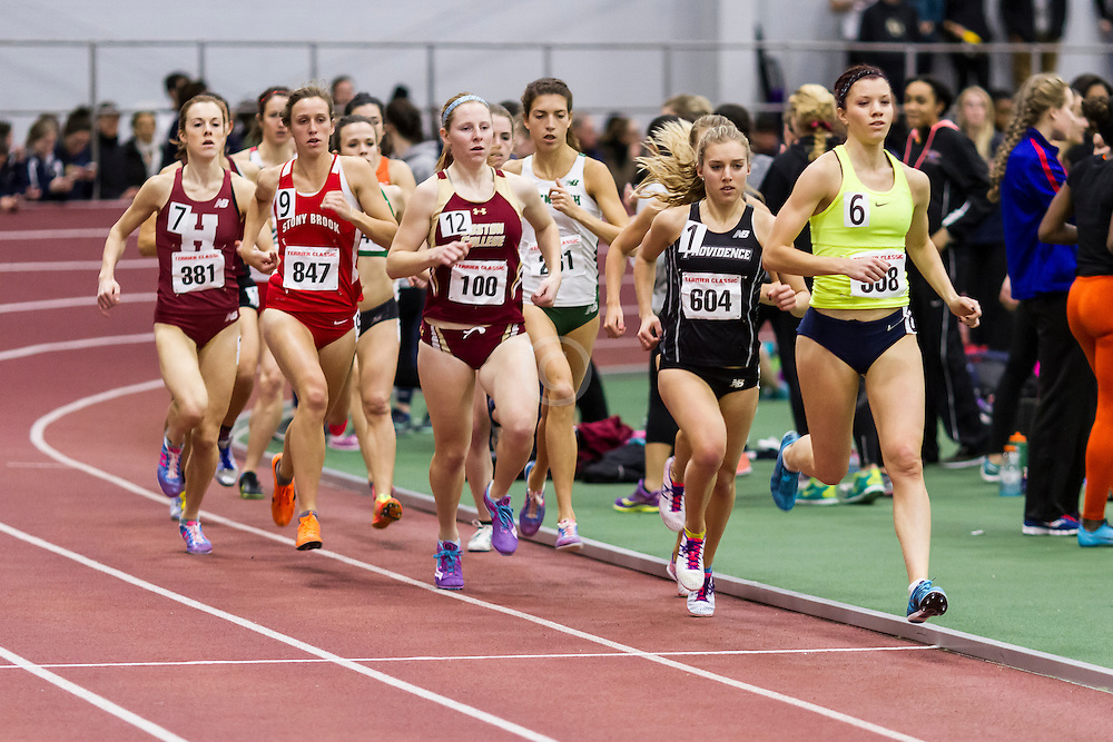 Womens Invitational Mile at BU Terrier Indoor Track