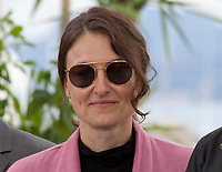 Producer Adèle Romanski at the Under The Silver Lake film photo call at the 71st Cannes Film Festival, Wednesday 16th May 2018, Cannes, France. Photo credit: Doreen Kennedy