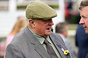 Trainer Mick Easterby who won The Eventmasters.co.uk Apprentice Handicap Stakes over 7f (£17,000) with LADIES FIRST during the Newby and the Press Family Raceday at York Racecourse, York, United Kingdom on 9 September 2018. Picture by Mick Atkins.