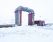 Geothermal powerstation, Krafla, Iceland