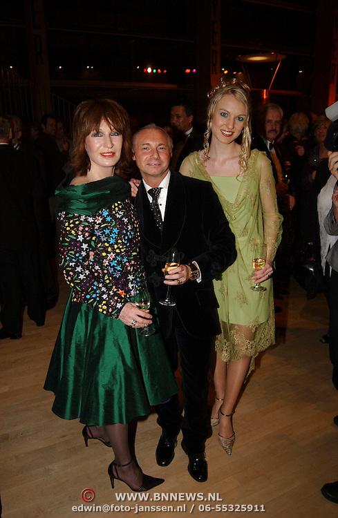 Premiere Songfestival in Concert, Liesbeth list en Ronald Kolk en dochter Elisah