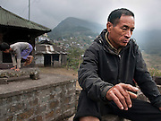 Kediselhu was in the Naga army and fought the Indian forces. Now he believes in reconciliation and peace.