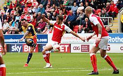 Lee Tomlin of Bristol City fires a shot at goal  - Mandatory by-line: Matt McNulty/JMP - 10/09/2016 - FOOTBALL - Aesseal New York Stadium - Rotherham, England - Rotherham United v Bristol City - Sky Bet Championship