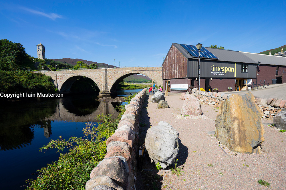 Timespan visitor Centre at Helmsdale, Sutherland, Scotland, United Kingdom