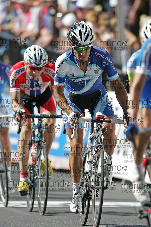(Geelong, Australia---03 October 2010) Juan José HAEDO of Argentina racing in the elite men's road race in the 2010 UCI Road World Championships, held in Geelong, Victoria, Australia. Photograph 2010 copyright Sean Burges / Mundo Sport Images