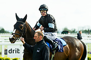 Cogital ridden by Richard Kingscote and trained by Amanda Perrett in the F45 Bath Group Training, Life Changing Handicap race.  - Ryan Hiscott/JMP - 06/05/2019 - PR - Bath Racecourse- Bath, England - Kids Takeover Day - Monday 6th April 2019