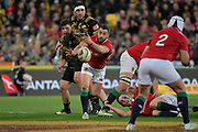 Lions&rsquo; Greig Laidlaw in action during the New Zealand Lions Series - Hurricanes v British and Irish Lions at Westpac Stadium, Wellington, New Zealand on Tuesday 27 June 2017.<br /> Photo by Masanori Udagawa<br /> www.photowellington.photoshelter.com.