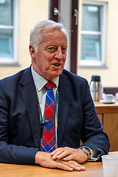 Pictured: Reverend Dr George Whyte, Principal Clerk of the Chirch of Scotland<br /><br />Reverend Martin Fair has been announced today to be the Moderator-Designate of the General Assembly of the Church of Scotland (who will serve from May 2020-May 2021) <br /><br />Ger Harley   EEm 21 October 2019