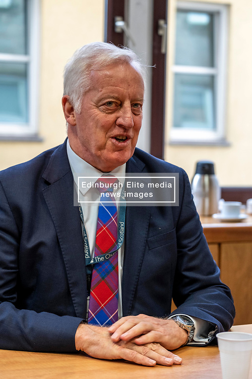 Pictured: Reverend Dr George Whyte, Principal Clerk of the Chirch of Scotland<br />