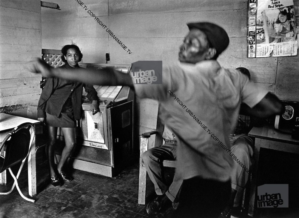 Jukebox at First and Last Bar Port Antonio 1972