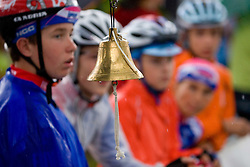 Bell at the start at Slovenian National Championships in Road cycling, 178 km, on June 28 2009, in Mirna Pec, Slovenia. (Photo by Vid Ponikvar / Sportida)