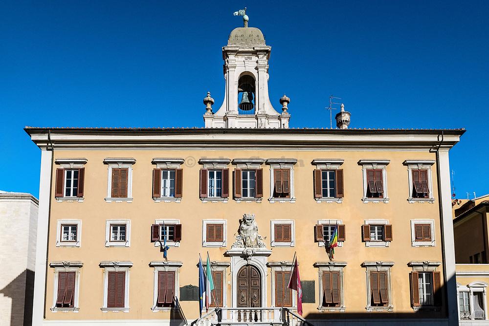 Palazzo Comunale,(City Hall) in Livorno, Tuscany, Italy