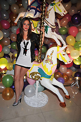 Actress KAYA SCODELARIO at a party hosted by Mulberry during London fashion Week 2009 at Claridge's Hotel, Brook Street, London on 20th September 2009.