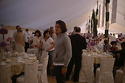 Orlando Bloom. Cartier International Day at Guards Polo Club, Windsor Great Park. July 24, 2005. ONE TIME USE ONLY - DO NOT ARCHIVE  © Copyright Photograph by Dafydd Jones 66 Stockwell Park Rd. London SW9 0DA Tel 020 7733 0108 www.dafjones.com