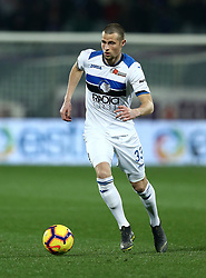 February 27, 2019 - Florence, Italy - Fiorentina v Atalanta : Italian Cup semifinal .Hans Hateboer of Atalanta at Artemio Franchi Stadium in Florence, Italy on February 27, 2019. (Credit Image: © Matteo Ciambelli/NurPhoto via ZUMA Press)