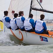 ligue national de voile entre 18 équipe sur des longtze organisé par la Société des Régates Rochelaises du 16 au 19 Juin 2016