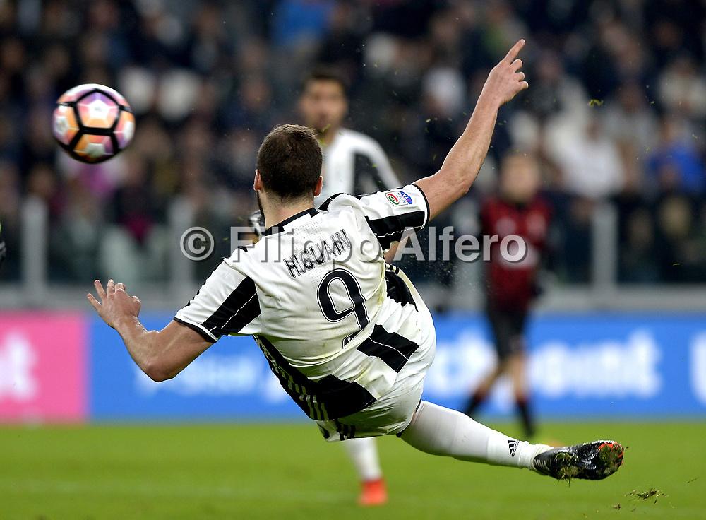 &copy; Filippo Alfero<br /> Juventus-Milan, Serie A 2016/2017<br /> Torino, 10/03/2017<br /> sport calcio<br /> Nella foto: