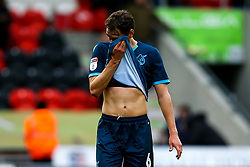 Edward Upson of Bristol Rovers cuts a dejected figure - Mandatory by-line: Robbie Stephenson/JMP - 19/10/2019 - FOOTBALL - The Keepmoat Stadium - Doncaster, England - Doncaster Rovers v Bristol Rovers - Sky Bet League One