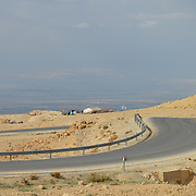 Mount Nebo`s road.