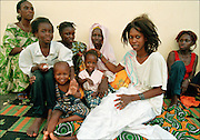 Matam village family life - Senegal