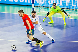 Kevin Ramirez of France during futsal match between Spain and France at Day 2 of UEFA Futsal EURO 2018, on January 31, 2018 in Arena Stozice, Ljubljana, Slovenia. Photo by Ziga Zupan / Sportida