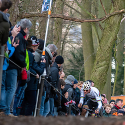 2019-12-15: Cycling: Overijse: Mathieu van der Poel rising in Overijse