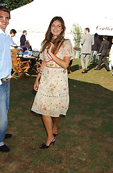 LADY NATASHA RUFUS-ISAACS at the 2005 Cartier International Polo between England & Australia held at Guards Polo Club, Smith's Lawn, Windsor Great Park, Berkshire on 24th July 2005.<br />